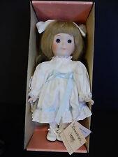 """Vintage 1988 Bradley's 12"""" Porcelain Doll-Candy #PTD83"""