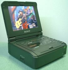 SONY DSR-V10 MINI DV VIDEO WALKMAN TV VCR MONITOR WORK GREAT FOR VIDEO TO DVD BN