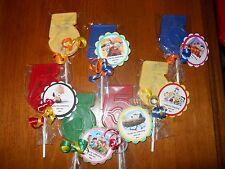 24 Peanuts Movie Snoopy themed 5th Birthday Gourment Party Favors  custom tags