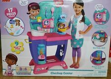 Disney Doc McStuffins Pet Vet Checkup Center Toy Kids Play Set BIG GIFT~ NEW!