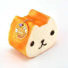 10CM Squishy Charm Kapibarasan Toast Slow Rising Bread Bun With Cellphone Strap