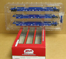 Atlas 20 002 839 HO Pacer Stack Train Thrall 53' Articulated Well Car #5329