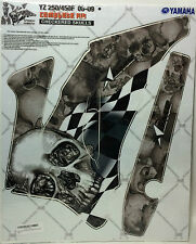 AMR Racing Graphic Sticker Wrap Kit Sale For Yamaha YZ 250/450F 06-09 CHECKERED