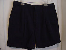 "MEN'S ""SAVANE DEEP DYE""  NAVY SHORTS 100% COTTON SIZE 40"