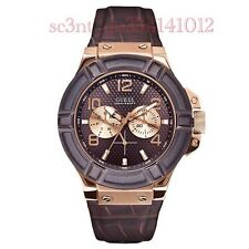 AUTHENTIC GUESS MEN'S RIGOR WATCH W0040G3 Brand New RRP: $349