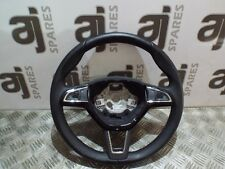 SKODA FABIA 1.2 2015 STEERING WHEEL (SOME WEAR) 5E0419091AH