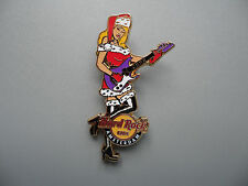 Hard Rock Cafe Amsterdam 2009 - Sexy Blond Haired Girl in Chrismas Costume Pin