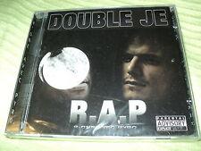 """CD NEUF """"DOUBLE JE"""" R.A.P. (R-ONE AVEC PYRO"""" Rap Francais / 18 morceaux"""