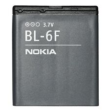 NEW ORIGINAL BATTERY NOKIA BL-6F BL6F 1200mAh 3,7V 4,4Wh N78 N79 N95 8GB 8GO