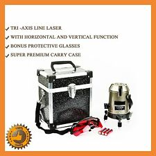 SELF LEVELING ROTARY ROTATING LASER LEVEL BEAM CROSS LINE TRIPOD SELF LEVEL NEW