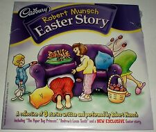 CD ROBERT MUNSCH STORIES EASTER ANDREW'S LOOSE TOOTH THE PAPER BAG PRINCESS NEW
