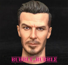 1/6 David Beckham Head Sculpt For Hot Toys Narrow Shoulder Body SHIP FROM USA