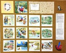 Quilting Treasures ~ SCUFFY THE TUGBOAT ~ 100% Cotton Fabric Book Panel