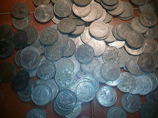 100 coins half crowns bulk lot 100 coins big lot