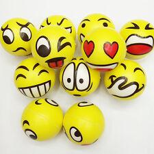Smiley-Gesicht Anti Stress Reliever Ball Autismus Stimmung Spielzeug Squeeze