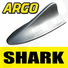 SILVER SHARK FIN DUMMY IMITATION REPLICA AERIAL DECORATIVE SPOILER ANTENNA