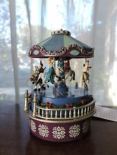 "Mr. Christmas Disney FROZEN ""Let It Go"" Musical Mini Carousel Elsa Anna Olaf NEW"