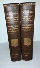 1924 Encyclopedia of Freemasonry & its Kindred Sciences 2 Vol Masonic Mackey
