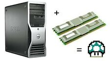 4GB KIT (2x2 GB) di memoria RAM UPGRADE 4 Dell Precision 490 & 690 fbds ecc 667 MHZ