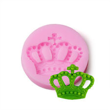 Royal Crown fondant mold,resin clay chocolate candy 3D silicone mould cake decor