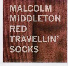 (EL323) Malcolm Middleton, Red Travellin' Socks - 2009 DJ CD