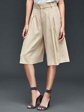 Gap Women's Creamy Satin Wide Leg Crop Pants Size 0 Regular