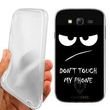 CUSTODIA COVER CASE TPU DON'T TOUCH PER SAMSUNG GALAXY GRAND NEO PLUS