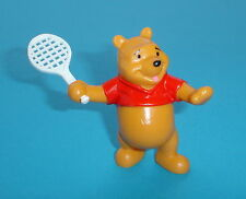 FIGURINE DE COLLECTION WINNIE L'OURSON Série 2 BULLY: WINNIE AU TENNIS NEUF !!