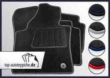 BMW 1er E87 und E81 100% passform Fussmatten Autoteppich Schwarz Silber Rot Blau