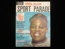 May 1964 Sport Parade All-Star Magazine – Willie Mays Cover
