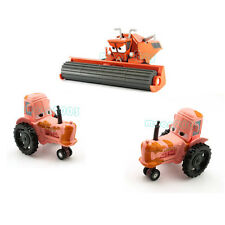 Set of 3 Mattel Disney Pixar Frank Metal Diecast Harvester+2x Tractor Heifer Car