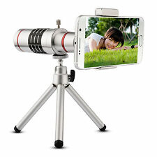 Universal 18X Zoom Phone Telescope Telephoto Camera Lens + Tripod IPhone Android
