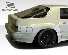 86-91 Mazda RX-7 Duraflex MTP Wide Body Rear Fender Flares 2pc 106594