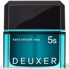 ☀ Number Three DEUXER Hard Smooth Wax 5s Hair Styling Wax 80g Japan ☀