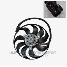 VW Volkswagen Auxiliary Cooling Fan Motor Right Premium Quality 1J0455M