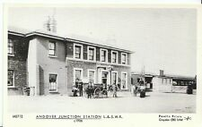 Railway Postcard - Andover Junction Station L. & S.W.R. c1906  V443