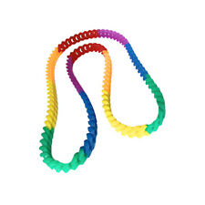 Pride Shack - Rainbow Silicone Link Necklace - Gay & Lesbian LGBT Pride Jewelry