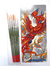 Mack Tidwell paint brush set  artist series 6pc painting detailing pinstriping