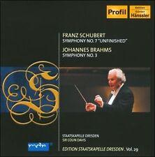 Schubert: Symphony No. 7; Brahms: Symphony No. 3 (CD, Aug-2010, Profil -...