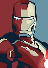 P0106 Iron Man Poster Marvel Hero Comic Book  Wall Canvas Print 24x36 in
