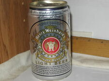 Henry Weinhard's Private Reserve Light Beer Portland Oregon 12 oz beer can