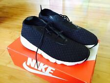 Nike Air Footscape Woven Chukka sz 10 Woven Black DS replacement Box