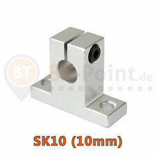 Wellenhalter SK10 10mm linear rail shaft SH10A 3D Drucker Printer CNC RepRap