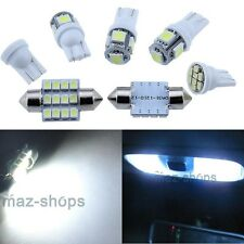 10x  Interior Bright White LED Lights Package Kit For Hyundai Santa Fe 2001-2012