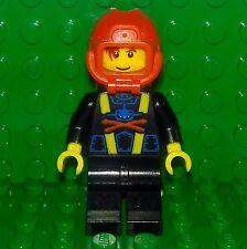 Lego - City - Aquazone Aquashark Rescue Diver Control Minifigure - Explorer