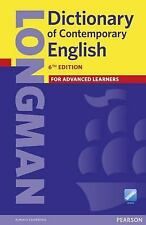 Longman Dictionary of Contemporary English by Pearson Books Staff (2015,...