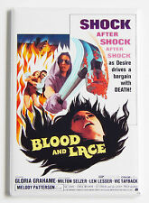Blood and Lace FRIDGE MAGNET (2 x 3 inches) movie poster