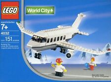 Lego Town World City Airport 4032 Passenger Plane SWISS Version New Sealed