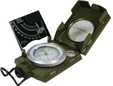 Military COMPASS with CLINOMETER - Italian Army Type Pocket Hiking Kit Equipment