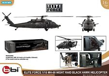 1/18 BBI ULTIMATE MH-60 ELITE FORCE SOLDIER NIGHT RAID BLACKHAWK Helicopter